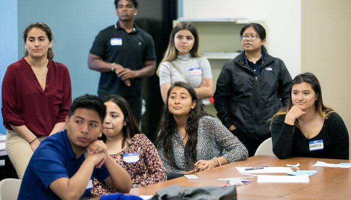 High schoolers learn about STEM careers on Illumina tour