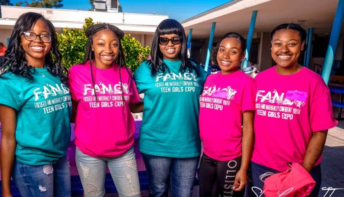 Girls get F.A.N.C.Y at teen expo