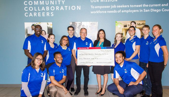 SDWP receives $50k from Bank of America to support military-connected young adults
